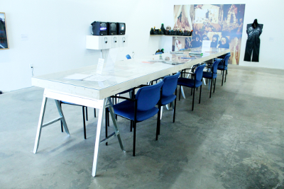 DiverseWorks Conference Table